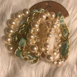 Jewelry - ❤️❤️NEW Five Strand Bracelet ❤️❤️